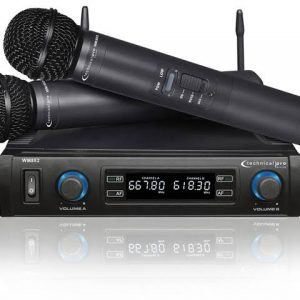 For hire Sual UHF wireless Microphone System
